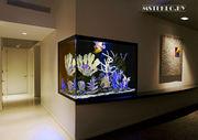 Интерьерные аквариумы